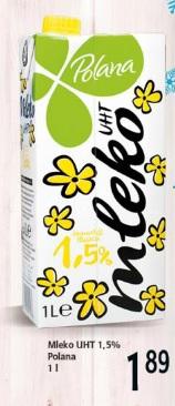 Mleko UHT 1,5% Polana