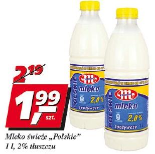 Mleko świeże Polskie