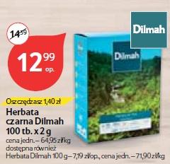 Herbata czarna Dilmah 100 tb.x 2 g