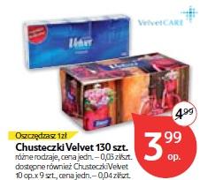 Chusteczki Velvet 130 szt.