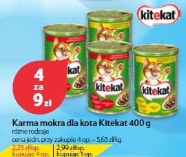 Karma mokra dla kota Kitekat 400 g