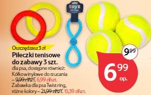 Piłeczki tenisowe do zabawy 3 szt.