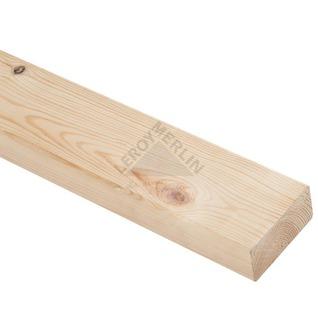 Drewno konstrukcyjne zaokrąglone HEBLOWANE SOSNA
