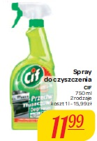 Spray do czyszczenia Cif
