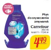Płyn do czyszczenia zmywarek Carrefour