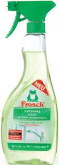 Płyn do czyszczenia kuchni, kabin prysznicowych Frosch