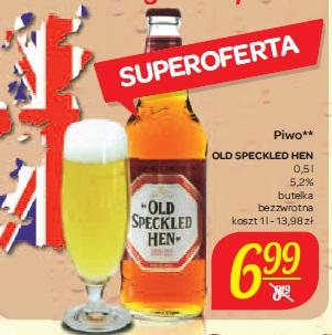 Piwo Old Speckled Hen