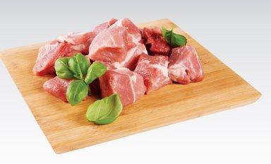 Mięso wieprzowe na gulasz z łopatki