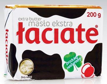 Masło ekstra Łaciate, 200 g