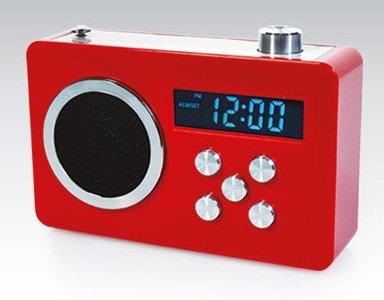 Radio z funkcją zegara