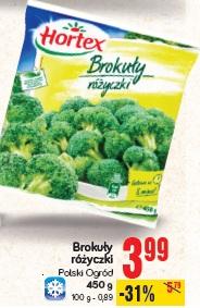 Brokuły różyczki Polski Ogród