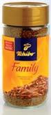Kawa Tchibo Family rozpuszczalna 200 g, Kawa Tchibo Gold Selection Crema rozpuszczalna 180 g, Kawa Tchibo Privat Kaffee rozpuszczalna 100 g