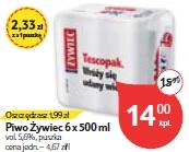 Piwo Żywiec 6 x 500 ml