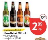 Piwo Rebel 500 ml