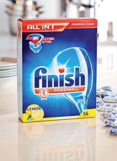 Tabletki do zmywarki Finish All in One 56 szt.