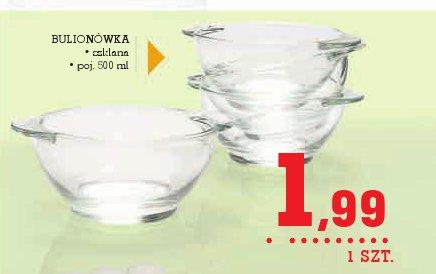 BULIONÓWKA • szklana • poj. 500 ml