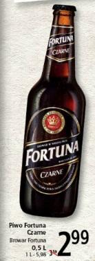 Piwo Fortuna Czarne Browar Fortuna