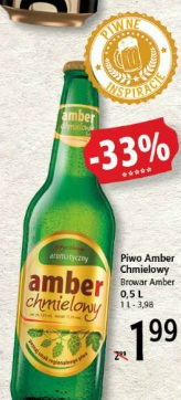 Piwo Amber Chmielowy Browar Amber
