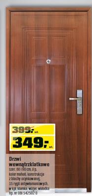 Drzwi wewnątrzklatkowe