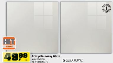 Gres polerowany White
