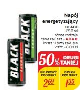 Napój energetyzujący BLACK