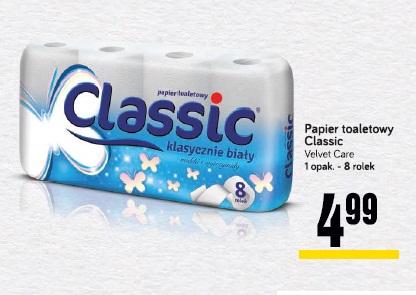 Papier toaletowy Classic VELVET