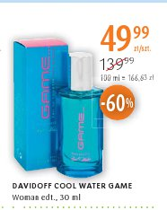 DAVIDOFF COOL WATER GAME Woman edt.,