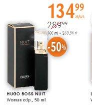 HUGO BOSS NUIT Woman edp.,