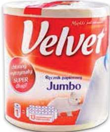 Ręcznik Velvet Jumbo 1 rolka