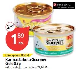 Karma dla kota Gourmet Gold 85 g