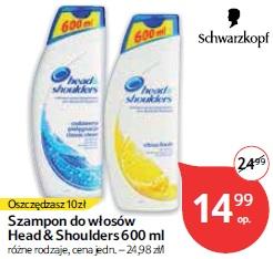 Szampon do włosów Head & Shoulders 600 ml
