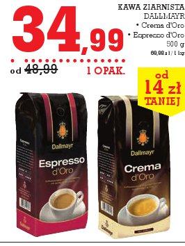 KAWA ZIARNISTA DALLMAYR • Crema d'Oro • Espresso d'Oro