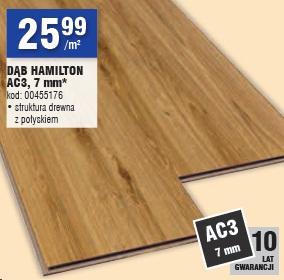 DĄB HAMILTON AC3, 7 mm