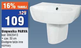 Umywalka PARVA