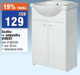 Szafka + umywalka DIREKT