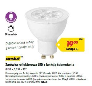 Żarówka reflektorowa LED z funkcją ściemniania
