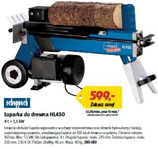 Łuparka do drewna HL450
