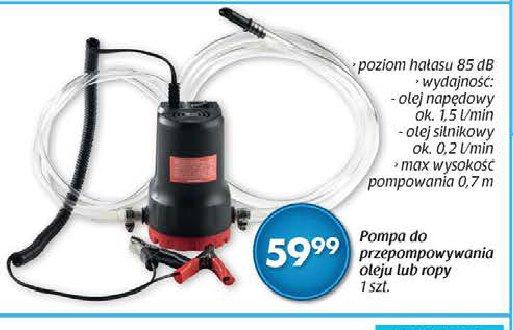 Pompa  do przepompowywania oleju lub ropy