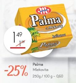 Palma Mlekovita