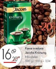 Kawa mielona Jacobs Kronung Mondelez
