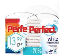 Proszek do prania Perfect różne rodzaje