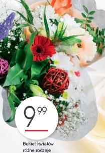 Bukiet kwiatów różne rodzaje