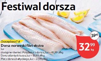 Dorsz norweski filet ekstra
