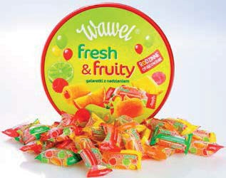 Mieszanka Krakowska, Galaretka Fresh & fruity 800 g