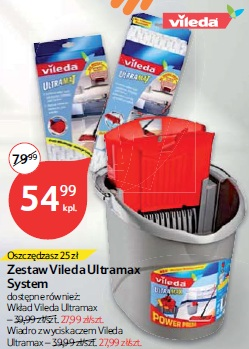 Zestaw Vileda Ultramax System