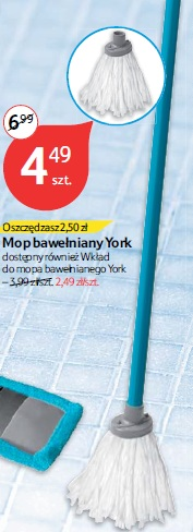 Mop bawełniany York