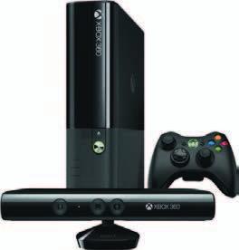 Xbox 360 KONSOLA XBOX 360 4GB+3 GRY