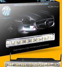 Światła do jazdy dziennej DRL 635 FLUX M-TECH