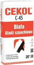 Gładź gipsowa CEKOL C-45