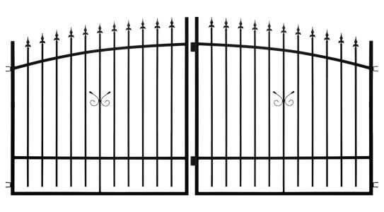Brama dwuskrzydłowa NIKE